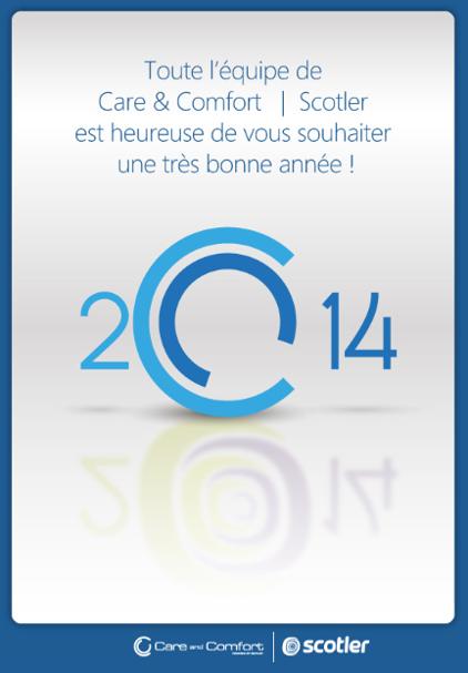 Care and Comfort vous souhaite une bonne année 2014