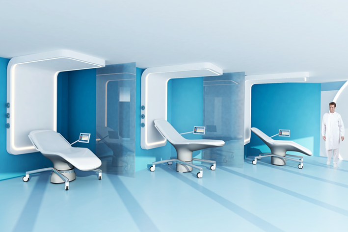 The Patient Room Of The Future Care And Comfort