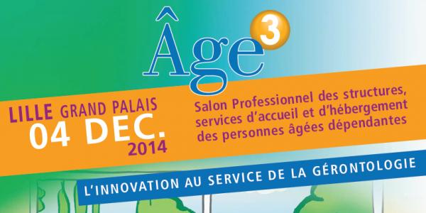 Venez découvrir l'EHPAD du futur au Salon Age 3