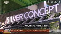 video inauguration silver concept